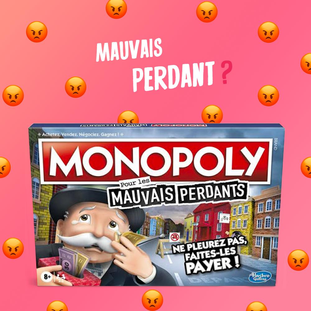 monopoly mauvais perdant tricheur