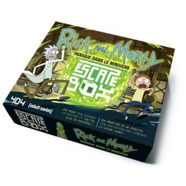 escape game box rick morty miniverse